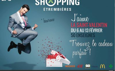 Saint-Valentin : Centre commercial