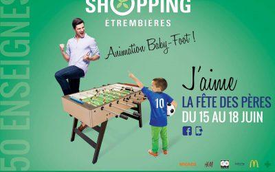 Fête des pères : Centre Commercial