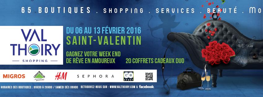 Saint-Valentin : Centre commercial