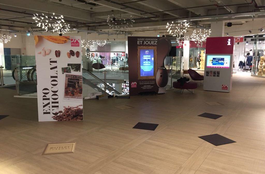 Expo chocolat et animations de Pâques à l'Outlet d'Aubonne