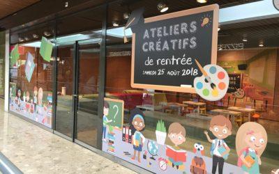 Ateliers créatifs – Centre commercial de La Tourelle